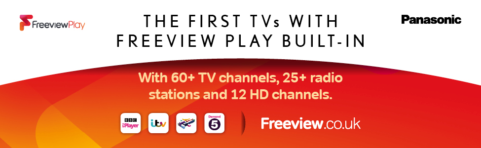 Set yourself free with Freeview Play